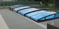 Decking bazéna materiál ( Ideck Luna Sivá )