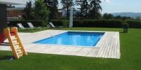 Decking bazéna materiál ( Ipe Lapacho )