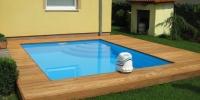 Decking bazena material - Cumaru Clasic Reeded
