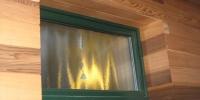 Detail obkladu okna ( Céder )