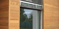 Detail obkladu okna materiál (Céder)