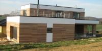 Drevenný fasádny obklad materiál ( Céder )