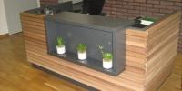 Obklad interiéru materiál ( Céder hranol Cube-clear )