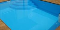 decking bazena