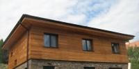 obklad domu z cederu