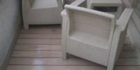Decking balkona materiál ( drevoplast Prémium style plus Teak )