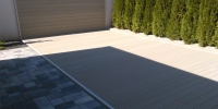 Deckingová terasa materiál ( Drevoplast )