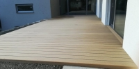 Deckingová terasa materiál ( WPC Prémium Forest  Céder )