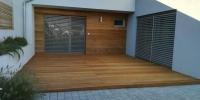 Drevená terasa materiál ( Garapa) obklad ( Céder )