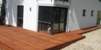 Drevenná terasa materiál ( Cumaru )
