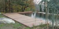 Drevenná terasa materiál Cumaru