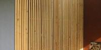 Drevenná zástena letnéj kuchyňe materiál ( S. Smrekovec )