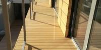 Strešná terasa materiál ( WPC Prémium Forest Céder )