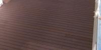 strešná nekotvená terasa materiál ( drevoplast )
