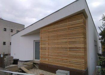 Atypická zástena materiál ( S.Smrekovec profil Rhombus )