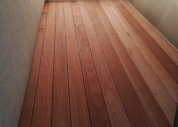 Balkon materiál ( Kempas )