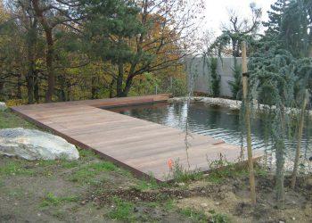 Bazénová terasa ( Cumaru )