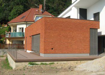 Deckingová terasa materiál ( Ideck WPC farba dark brown )