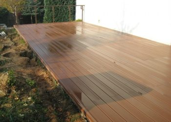 Deckingová terasa materiál ( WPC )