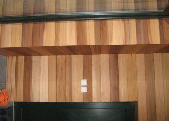 Detail vnútorného rohu okna a dverý ( Céder )