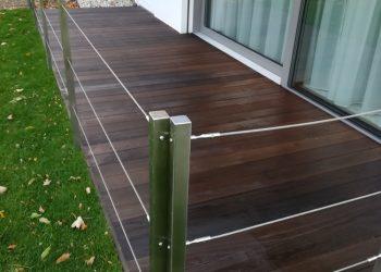 Drevená terasa ( Thermo Jaseň )