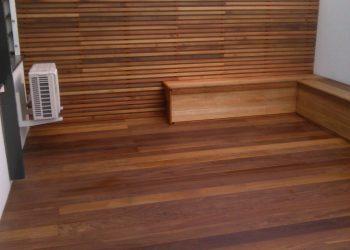 Drevenná terasa ( Cumaru ) obklad ( Céder Cúbe Clear)