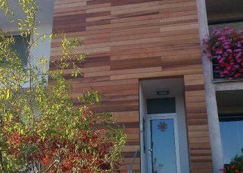 Drevenný fasádny obklad materiál ( Céder ) 5