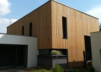 Fasádny drevenný obklad materiál ( S.Smrekovec )