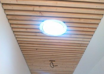 Podhľad stropu materiál ( S. Smrekovec )