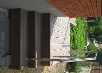 Schodisko material ( drevoplast )