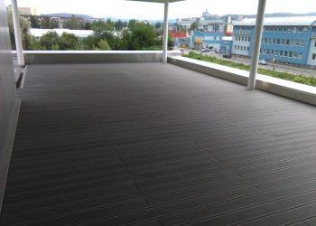 Strešná nekotvená terasa materiál Wpc Ideck Luna farba ( Grey )
