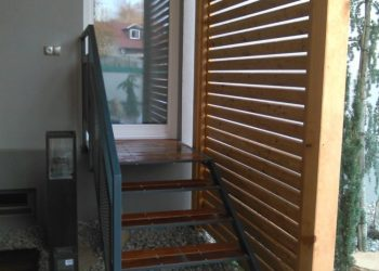 schodisko zo zástenou materiál ( Cunaru profil Tico )