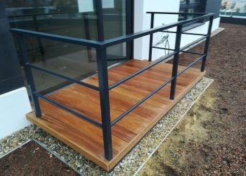 Decking balkonu ( Cumaru )