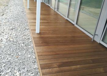 Drevená terasa ( Thermojaseň )