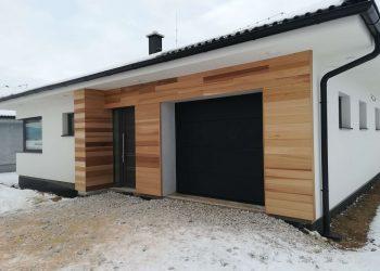 Fasádny drevený obklad ( Céder )