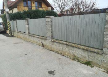 Obklad plota WPC ( Inox )