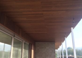 Obklad fasády,deckingová terasa,obklad podhľadov materiál ( Thermojaseň Clipový systém )